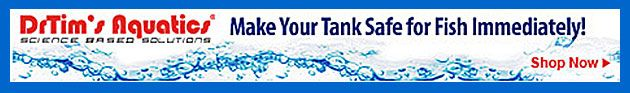 Make Your Tank Safe for Fish Immediately  One and Only from Dr.Tims Aquatics